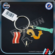 sedex 4p promotional stainless steel keychains wholesale for sale