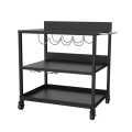 Cold-Rolled Steel Plancha Trolley
