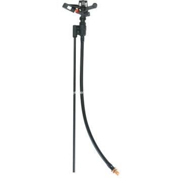 "Durable 1/2 "" Black Full Circle Irrigation Impact Sprinkler"