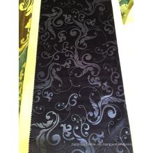 Großhandelseuropäischer Hotel-Polyester-Material 3D prägeartiger Samt-Vorhang-Gewebe
