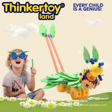 Créatif éducatif éducatif pré-scolaire Blockng Block Toy for Kids
