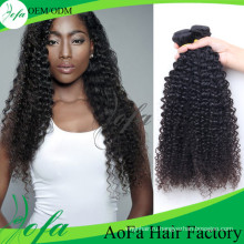 8А Малайзии вьющиеся волосы девственницы 100% человеческих волос weave