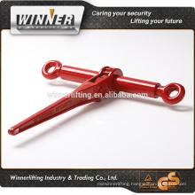 Drop forged steel load binder hardware