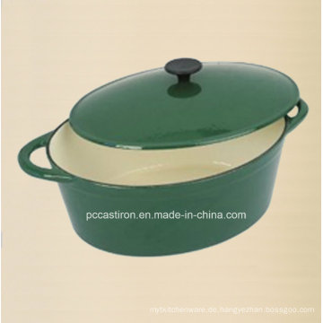 Emaille Oval Gusseisen Kasserolle Kochgeschirr Hersteller aus China