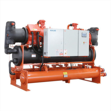 Office Building Chiller Air Water Cooled Chiller Screw Chiller
