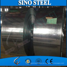 Tira de acero galvanizada sumergida caliente del grado Q345 para la correa