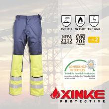 pantalones ignífugos con alta resistencia a la rotura