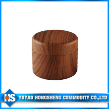 Двойной Цвет древесины банку с Внутренняя Крышка