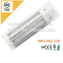 G24 / G23 / E27 Epistar Chip 9w LED PL Light Теплая белая / холодная белизна для выбора