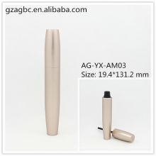Elegante & leer Aluminium Mascara Rohr AG-YX-AM03, AGPM Kosmetikverpackungen, benutzerdefinierte Farben/Logo