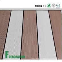 Decking exterior composto de madeira do baixo custo UPVC