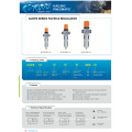 Compressed air MINI MIDI MAXI with pressure gauge air source treatment KLHFC series filter regulator