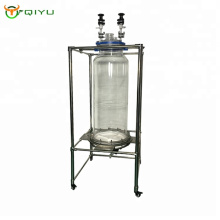 High quality CBD purification Chemical liquid and solid Extraction Machine Glass Vacuum Filter