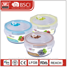 Glas-Lebensmittel-Container