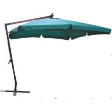 Antique Strong Cantilever Square Garden Wooden Umbrella