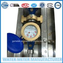 """1/2"" - ""1"" Ferro Multi-Jet Vane Roda Tipo Seco Water Meter"