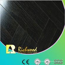 Plancher en stratifié imperméable de noix de miroir du ménage 12.3mm E1