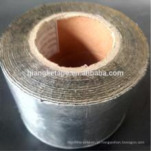 fita adesiva butílica de alumínio aplicada fria que waterproofing fita piscando autoadesiva para a abertura e canto