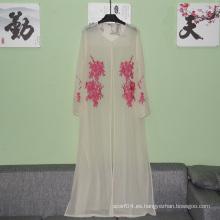 Venta al por mayor de ropa islámica mujer Simple Abaya Pakistán ropa