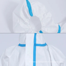 High Quality Medical Hospital Disposable Safety Protective Isolation Gown