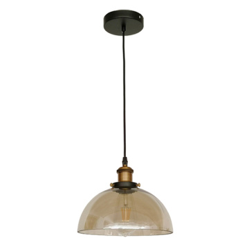 Lampe suspension industrielle vintage moderne