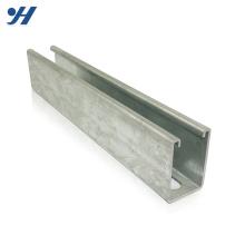 Trilho de aço de alta qualidade de aço galvanizado zinco do canal de C do material de construção