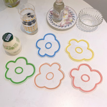 Acrylic Flower Shaped Coasters