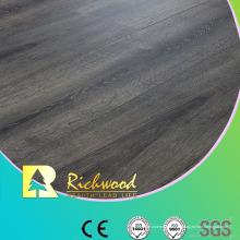 Revestimento da estratificação do vinil de madeira chanfrado do revestimento HDF V da cera AC3