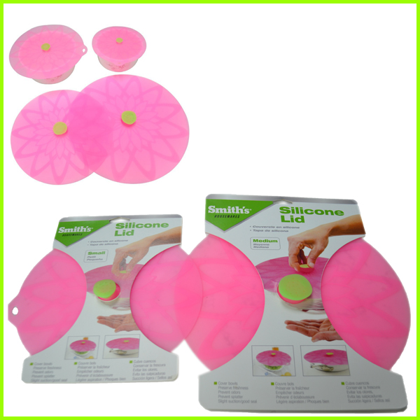 Food Cover Silicone Seal Lid