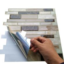 Горячая продажа водонепроницаемые виниловые мозаичные плитки для ванной комнаты