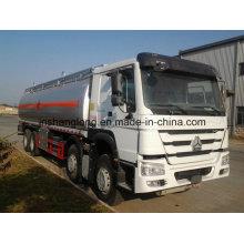 30m3 HOWO 8X4 Oil Tanker Fuel Tank Truck