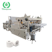 2200mm Small Toilet Tissue Paper Roll Rewinding Making Machine