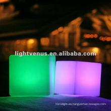 club nocturno / bar PE Led cubo de luz