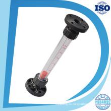 Metro de flujo de la tubería de la industria del rotámetro del tubo plástico del agua de Lzs Dn15