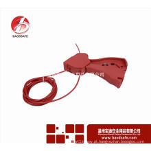 BAODSAFE Correção do bloqueio do cabo ajustável BDS-L8601 Cor vermelha