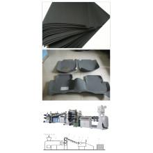 A maquinaria da extensão da folha da decoração do carro de EVA / EVA cobre a linha da extrusão