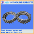 PC300-7 pc300-6 pc270-7 sprocket 207-27-61210