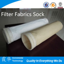 Metal Industrial Filter Tecidos Sock para filtro de saco