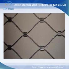 Maille de corde en acier inoxydable de haute qualité