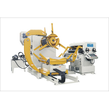 3 in 1 Combined Decoiler dan Feeder Straighteners
