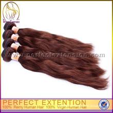 Tangle freie unverarbeitete indische remy rot Haarverlängerung, Rabatt, heißer Verkauf Echthaar