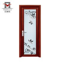 2018 alibaba ready made new design aluminum bathroom door