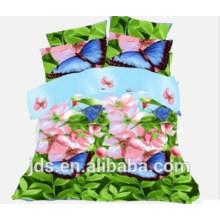 Tissu imprimé en polyester papillon 2015