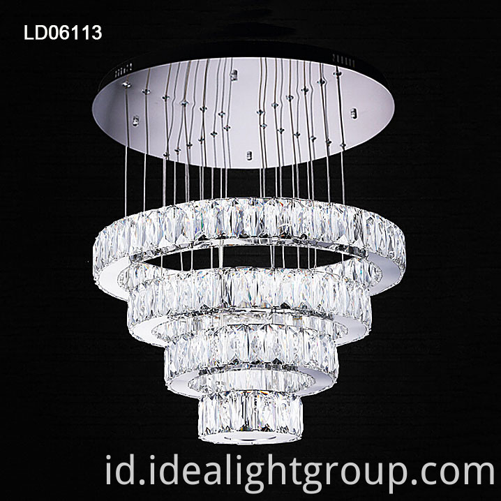 crystal hanging lighting