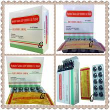 Comprimidos antifúngicos de nistatina