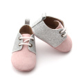 Popular Pink Individuality Valiosa calidad Oxford Shoes