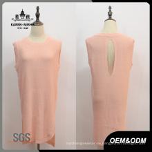 Frauen Sommer ärmelloses Kleid Kleidung