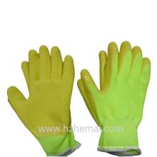 Gants de jardinage colorés Gant de travail Safey en mousse moulé en latex