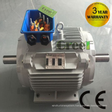 Double Shaft Low-Speed 5kw 200rpm 220VAC Permanent Magnet Generator
