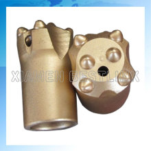 Mining Use Taper Button Drill Bits with 6 Buttons